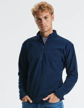 Men`s Quarter Zip Microfleece