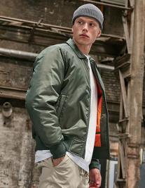 Collar Bomber Jacket